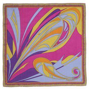 Vintage Rare Iconic Emilio Pucci scarf 100% Silk